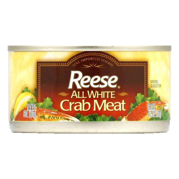 Reese All White Crabmeat, 6 OZ (Pack of 12)