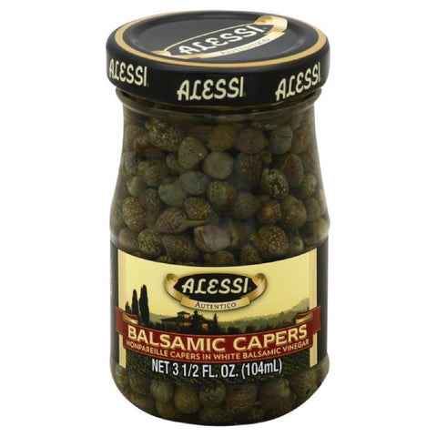 Alessi Balsamic Capers, 3.5 Oz (Pack of 6)