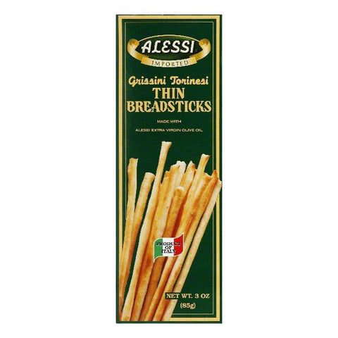 Alessi Breadsticks Thin, 3 OZ (Pack of 12)
