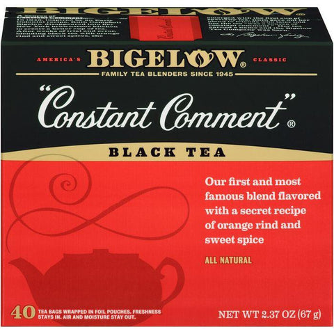 "Bigelow ""Constant Comment"" Black Tea Bags 40 ct (Pack of 6)"