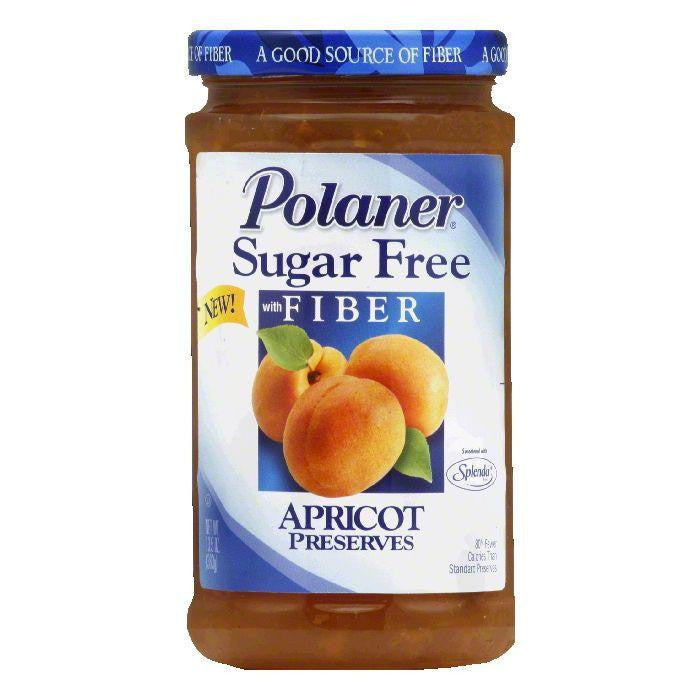 Polaner Preserves Apricot Sugar Free, 13.5 OZ (Pack of 12)