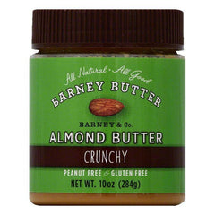 Barney Crunchy Almond Butter, 10 OZ (Pack of 6)