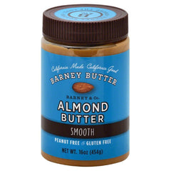 Barney Smooth Almond Butter, 16 Oz (Pack of 6)