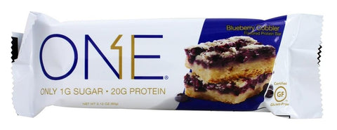 Onebar Blueberry Cobbler Cake Bar, 60GM  (Pack of 12)
