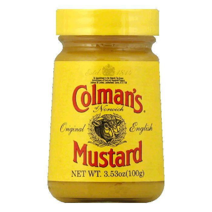 Colman's Mustard Hot English, 3.53 OZ (Pack of 8)