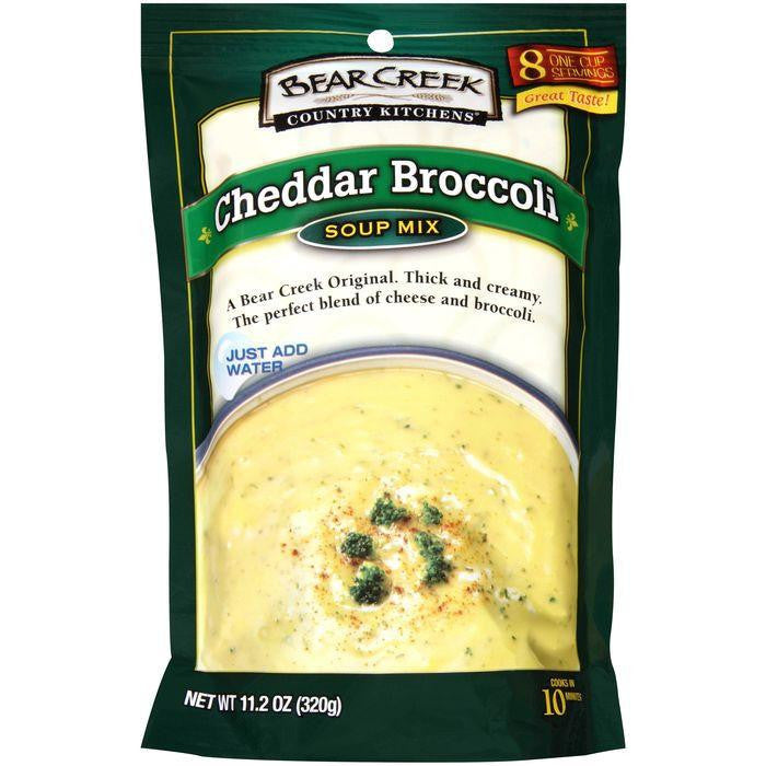 Bear Creek Country Kitchens Cheddar Broccoli Soup Mix 11.2 Oz (Pack of 6)