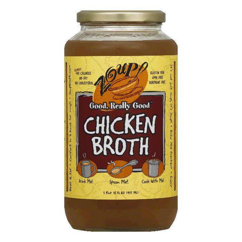 Zoup Chicken Broth, 31 Oz (Pack of 6)