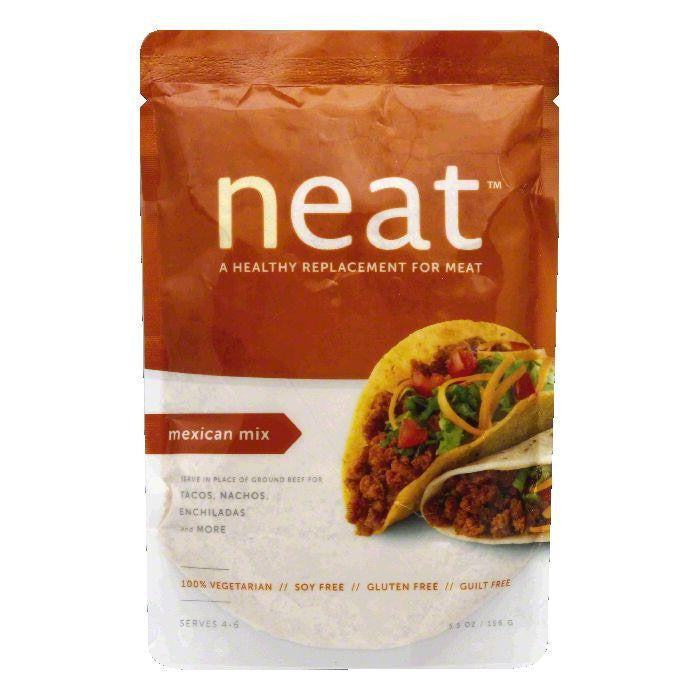 Neat Hispanic Mix Healthy Replacement for Meat, 5.5 Oz (Pack of 6)