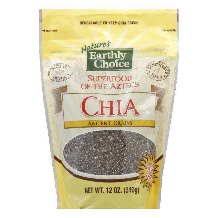 Earthly Choice Chia, 12 Oz (Pack of 6)