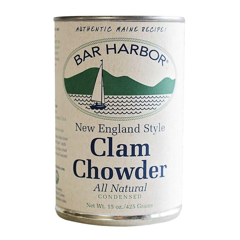 Bar Harbor New England Style Clam Chowder,15 OZ (Pack of 6)