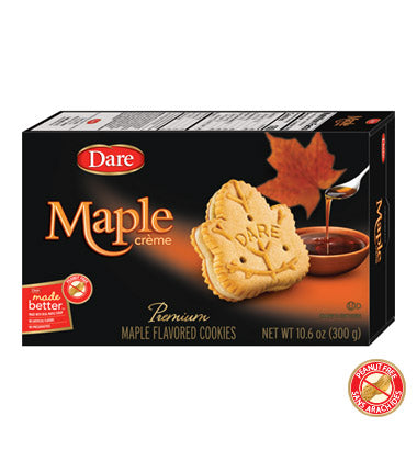 Dare Maple Creme Cookies, 10.6 OZ (Pack of 12)