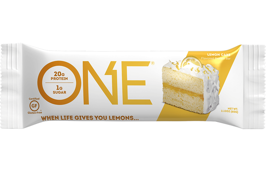 Onebar Lemon Cake Bar, 60GM  (Pack of 12)