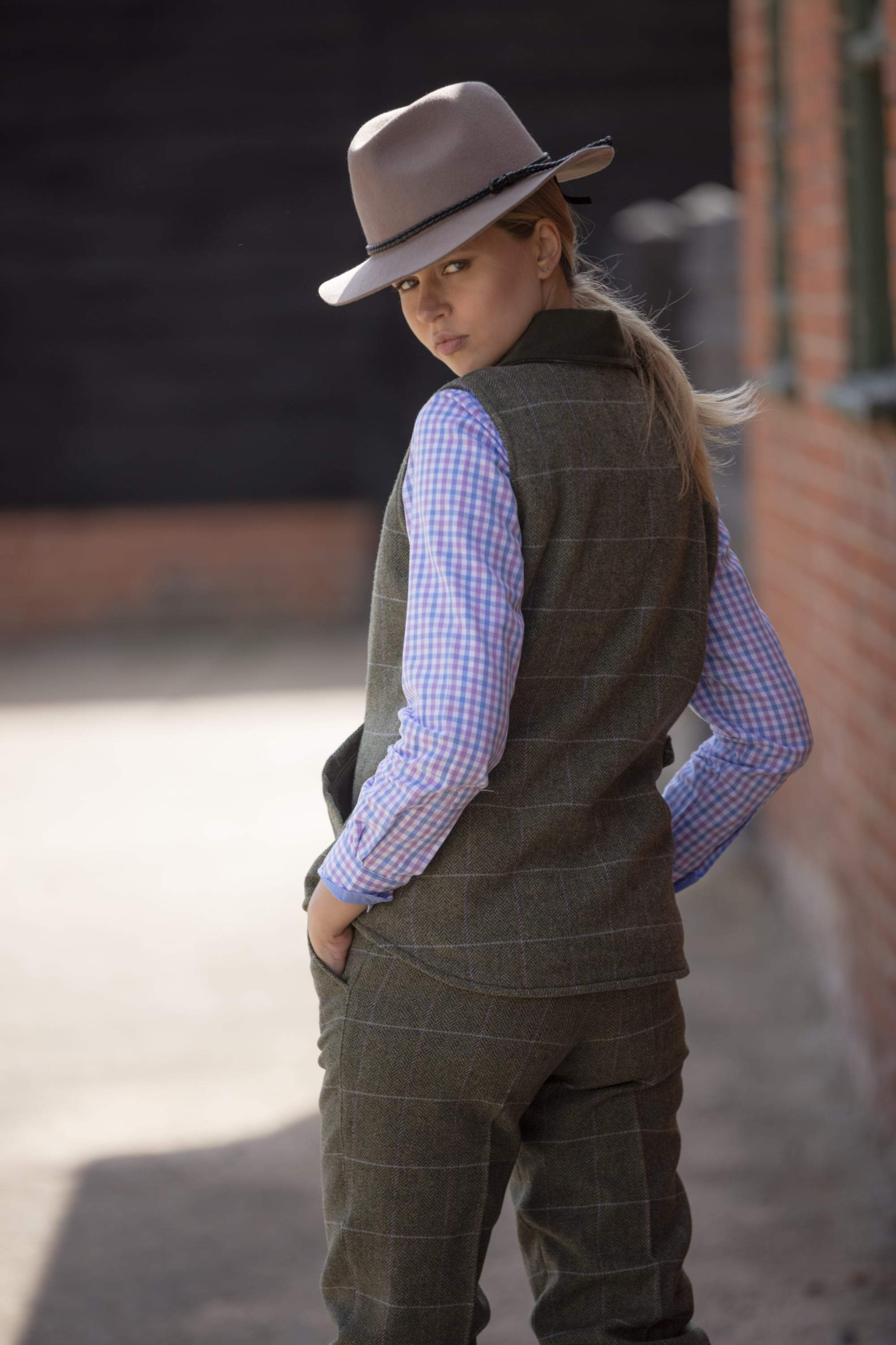 Albany ladies tweed breeks