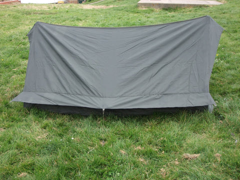 French army issue two man tent. Single door.