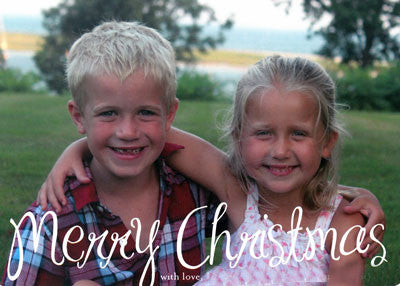 973 Merry Christmas Holiday Card
