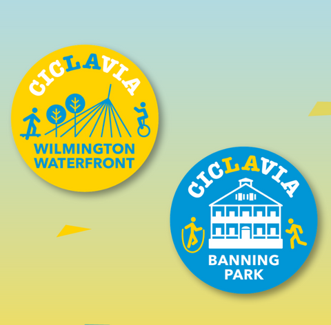 CicLAvia Wilmington Button Pack