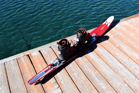 "Dutch Auction : HO System 8 67"" Waterski & Hardshell installed - Fluid Motion Sports - Sproat Lake"
