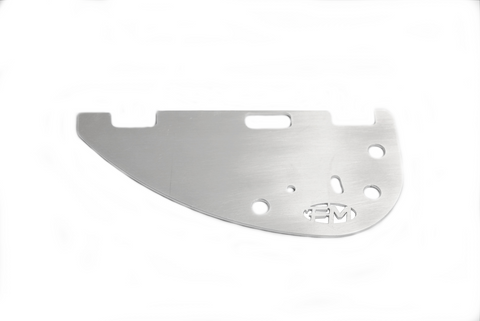Fin Blade 5052 Alloy - Fluid Motion Sports - Sproat Lake