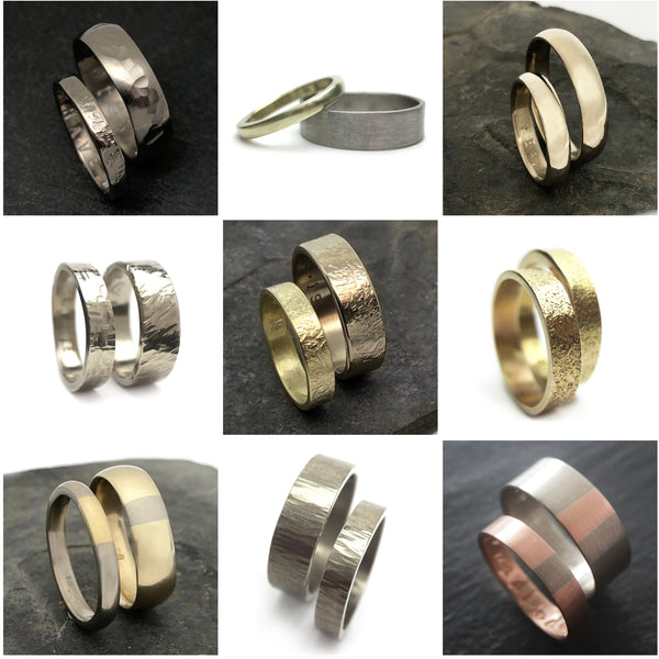 Create Your Own Wedding Rings, Handmade Wedding Bands, Artist Made Commitment Rings