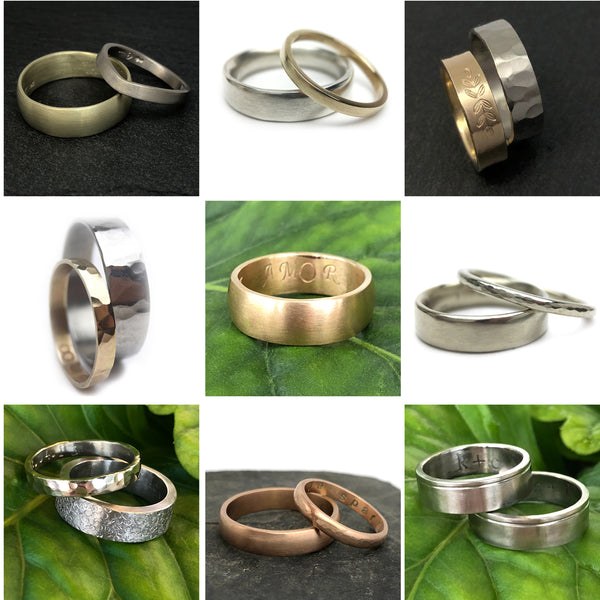 DIY Wedding Band Workshop, Forged by Hand, Ethical Metalsmiths Recycled Gold