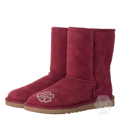 Women's UGG Classic Short Sugar Plum by Harriet & Hazel - Harriet & Hazel  - 1