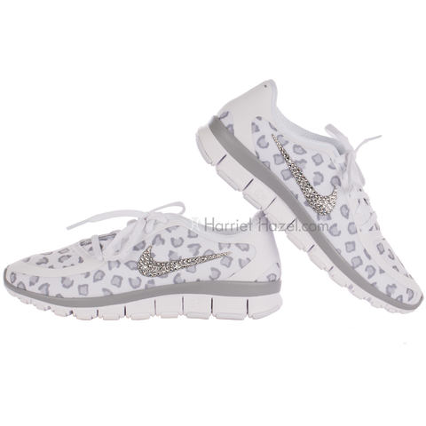 NIKE Free 5.0 V4 NS PT White/Wolf Grey - Harriet & Hazel  - 1