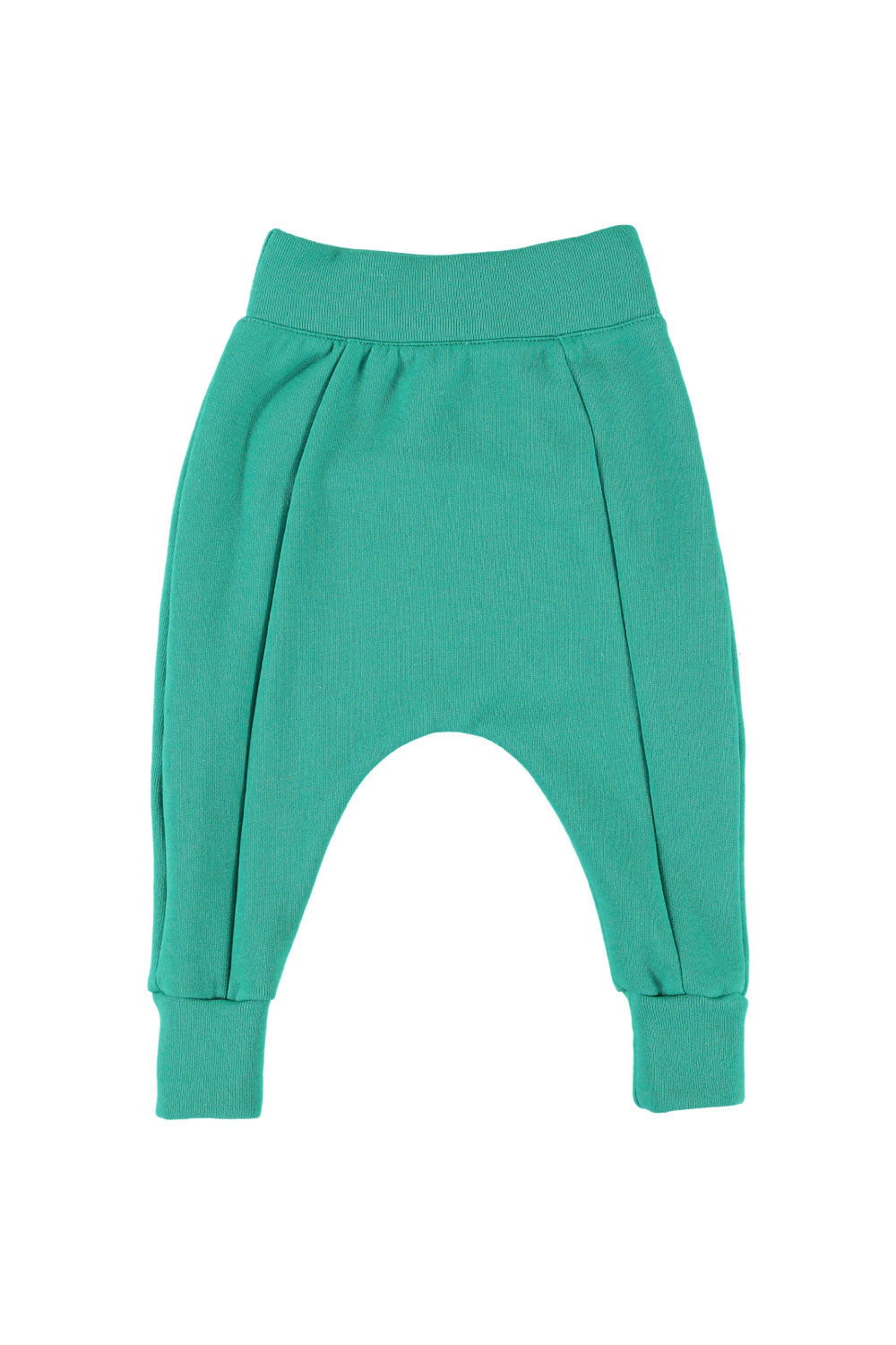 Seamed Harem Pants - Grass Green