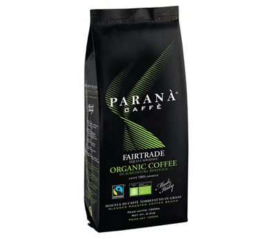 Caffè Paranà Organic Fairtrade Coffee 1kg