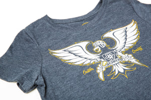 GONZO T-SHIRT WOMEN'S - NAVY