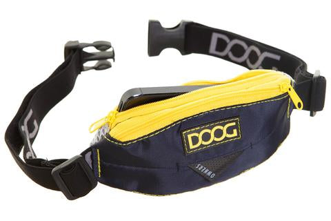 DOOG Mini Belt- Navy & Yellow