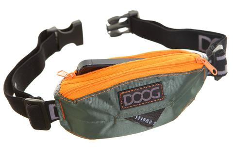 DOOG Mini Belt- Olive Green & Orange