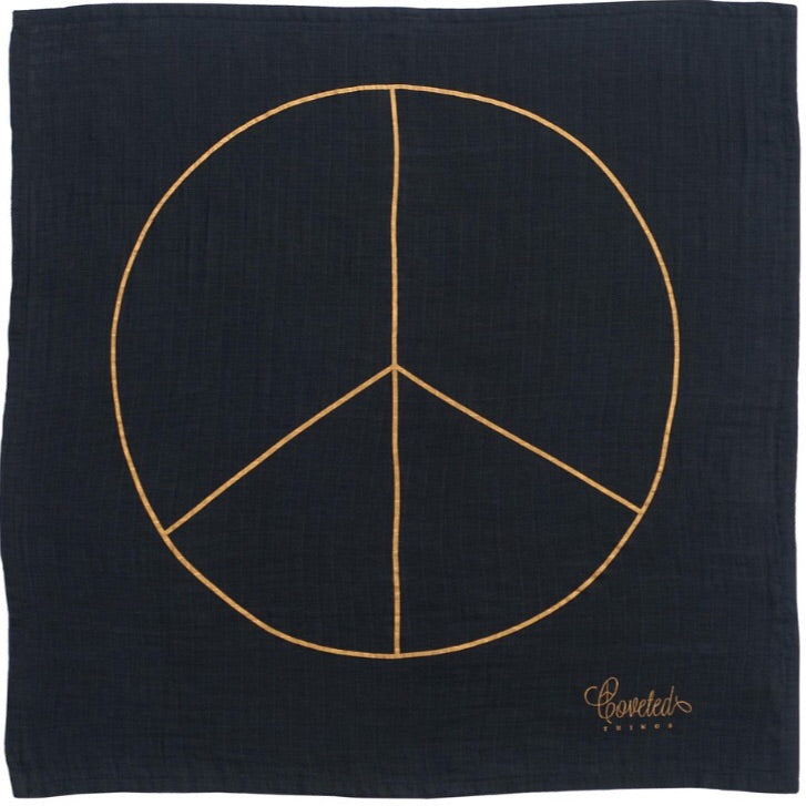 Peace Swaddle Blanket