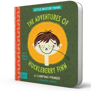 The Adventures of Huckleberry Finn Board Book