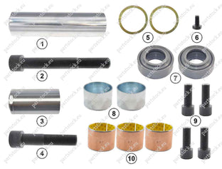 Caliper repair kit -  GK88007 Guide pin and seal kit