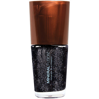 Coal Mine Black Glitter Vegan Nail Polish