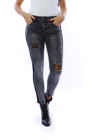 BY SWAN Skinny Grey Denim. 5195