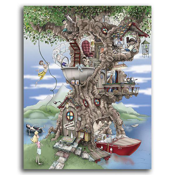 Creative art for kids with the ultimate tree house adventure - Personal-Prints