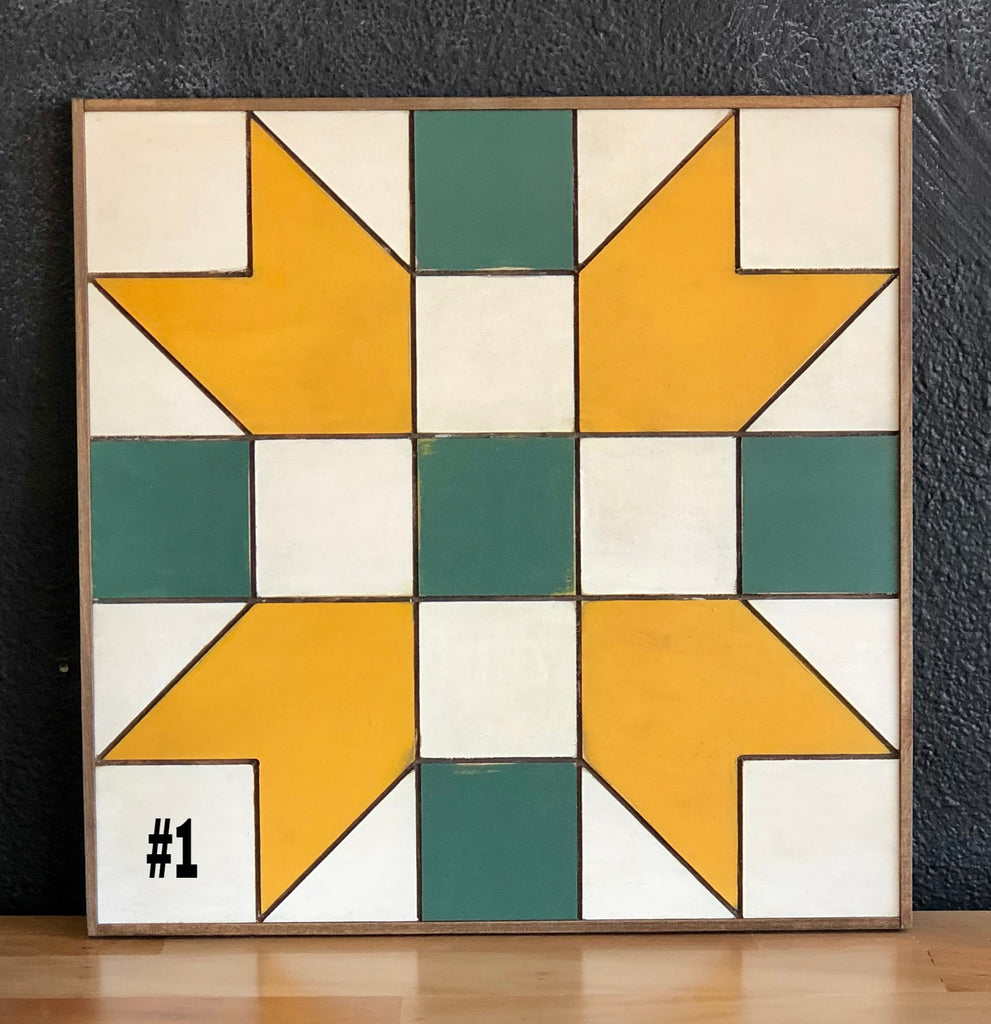 "18"" x 18"" Framed Quilt Block Workshop - Tuesday, August 6 - 6:30-8:30pm (maybe 9)"