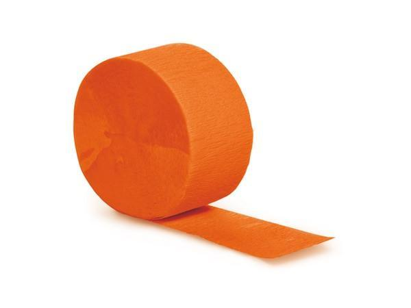 Party Kit Company - Decorations Garlands and Bunting Orange Party Streamers