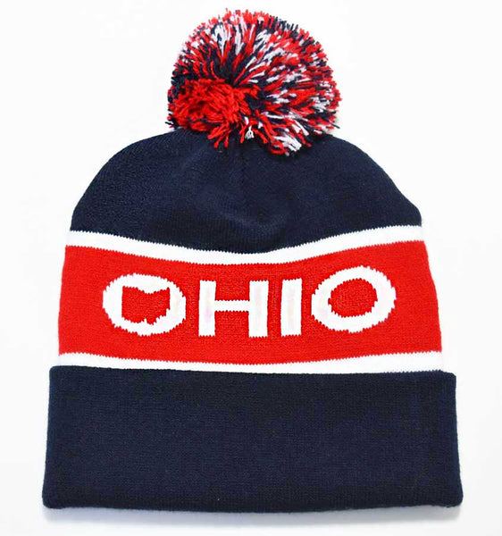 Ohio Classic Cuffed Knit Hat - American Made
