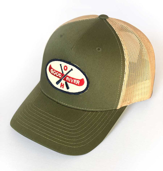 Good River Canoe Structured Trucker