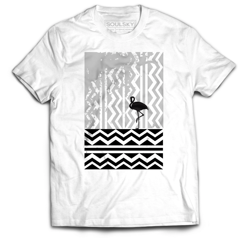 ONE STEP AT A TIME Tee - SOULSKY