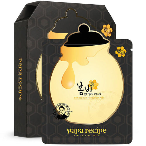 Bombee Black Honey Mask Pack