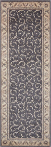 Nourison Somerset Charcoal Area Rug ST02 CHARC
