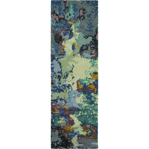 Oriental Weavers Galaxy 21903 Blue/ Grey Abstract Area Rug