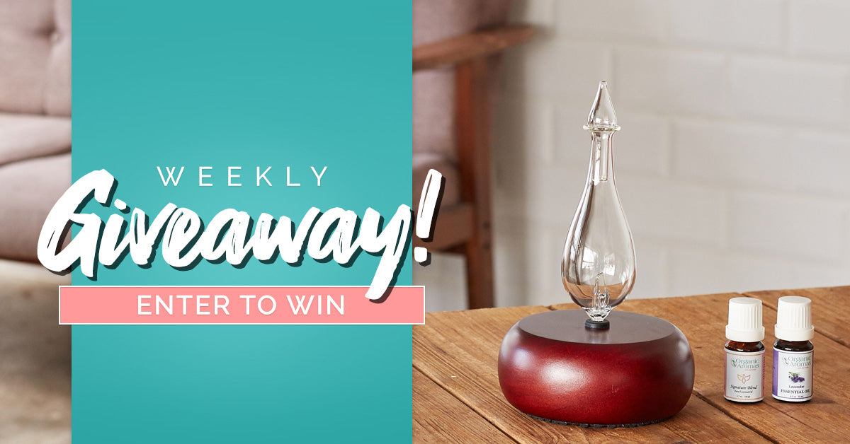 Organic Aromas Weekly Giveaway July 15 2019