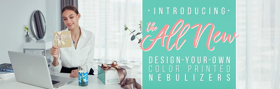 Design you own color printed diffuser
