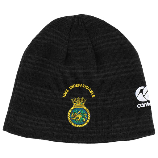 HMS Indefatigable Canterbury Beanie Hat