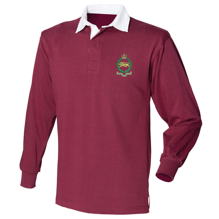King's Own Royal Border Regiment Long Sleeve Rugby Shirt