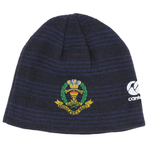 Middlesex Regiment Canterbury Beanie Hat